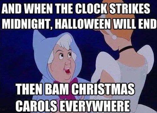 christmas starting